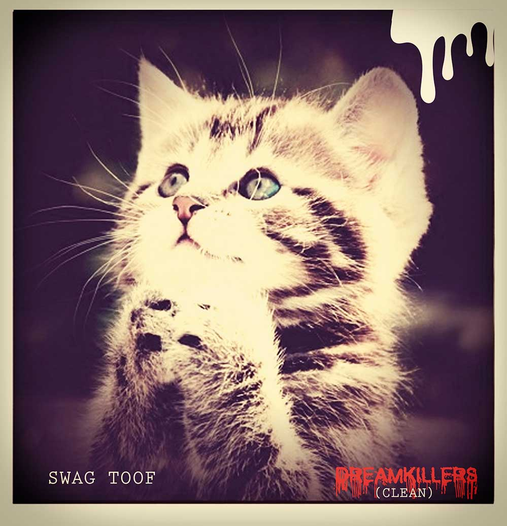 DREAMKILLERS WHITE — Swag Toof — UNDR RPBLC Daily
